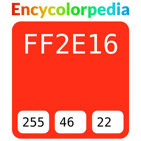 The three primary colors, red, green and blue, are made by mixing the highest intensity of the desired color with the lowest intensities of the other two Ryobi / #ff2e16 Hex Color Code, RGB and Paints