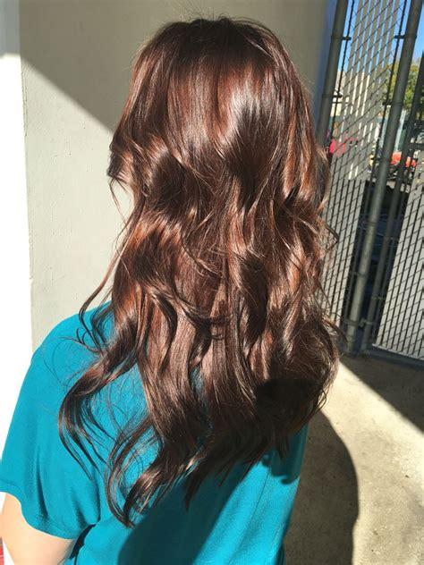 Shiny Hair Color by Brown Hair Chocolate Brown Hair Rich Brown Hair All