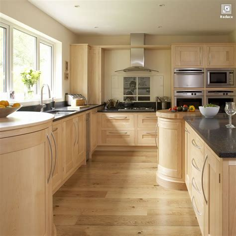 maple kitchen ideas contemporary maple shaker kitchen our kitchens of the week pinter
