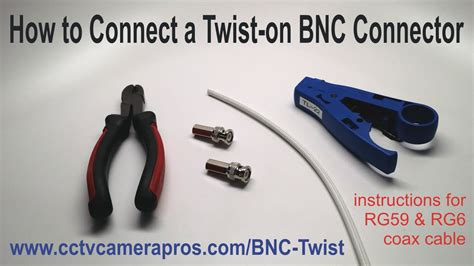 how to connect a twist connector youtube