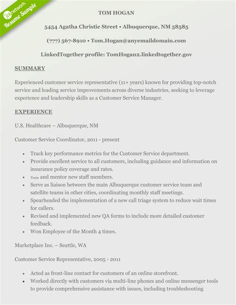 14368 experienced customer service resume how to craft a customer service resume using exles