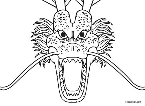 printable dragon coloring pages  kids coolbkids
