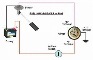 Wiring Diagram For Fuel Gauge On Boat