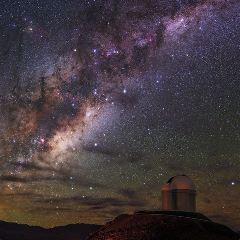 Milky Way Alpha Centauri Ab And Proxima Centauri Seen