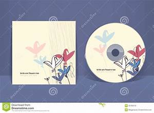 cd cover design template stock vector illustration of With cd cover design online
