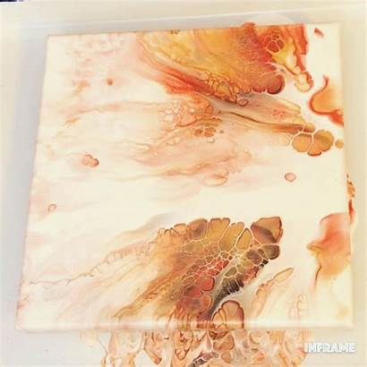 Acrylic Pouring Painting Fluid Techniques Abstract Using