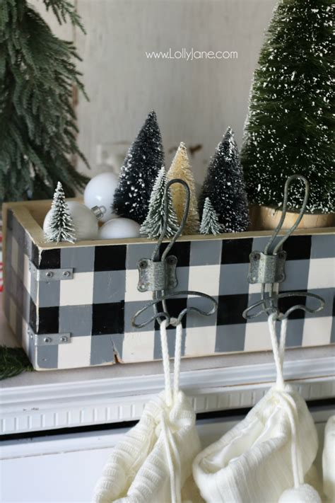 diy stocking holder lolly jane