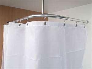 Schiene Für Duschvorhang : textil duschvorhang f r dusche und badewanne plain in 4 ~ Michelbontemps.com Haus und Dekorationen