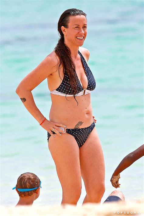 Alanis Morissette in a Bikini in Hawaii | May 2014 ...