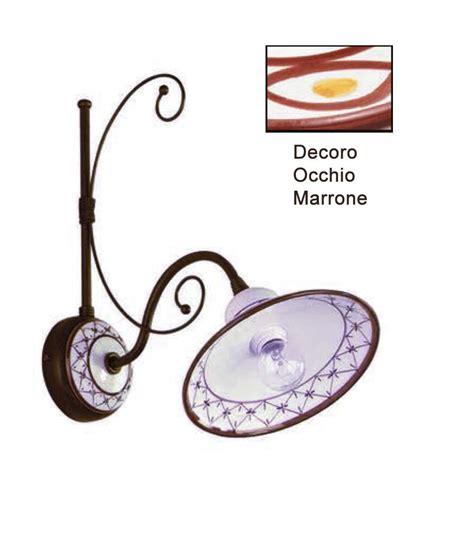 Applique Ceramica by Appliques Ceramica Artigianale Marrone La Luce Futuro