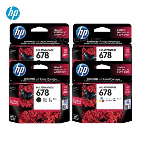 Hp 678 Tinta Cartridge Hitam jual tinta printer tinta hp 678 ori d1515 d2515 d2545 4515