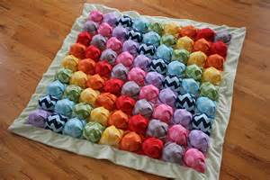 Bubble Quilt Puff Blanket