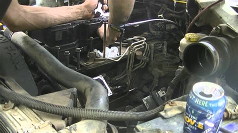 Injector Line Removal (07/24/12)