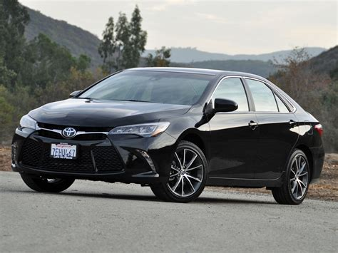 toyota camry test drive review cargurus