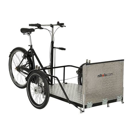 polisport siege bébé velo nihola flex triporteur électrique pour les fauteuils roulants