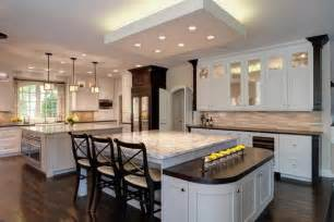 Kitchens With Two Islands 32 Magnificent Custom Luxury Kitchen Designs By Drury Design