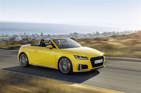 2019 Audi Tt And Roadster Get Tweaked
