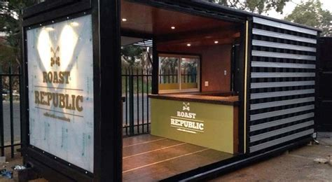 container coffee shops   world big box containers