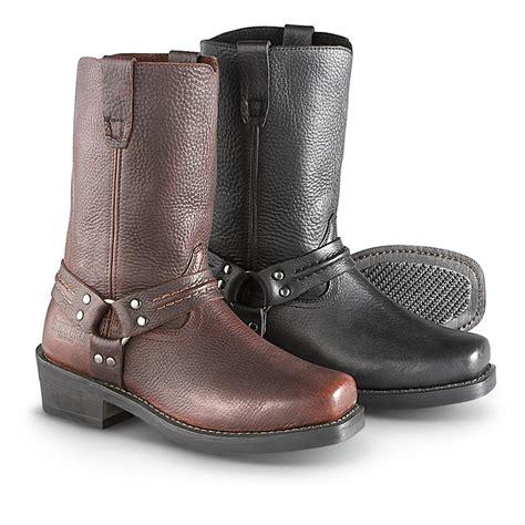 biker boots men men 39 s guide gear hardtail harness boots 226173