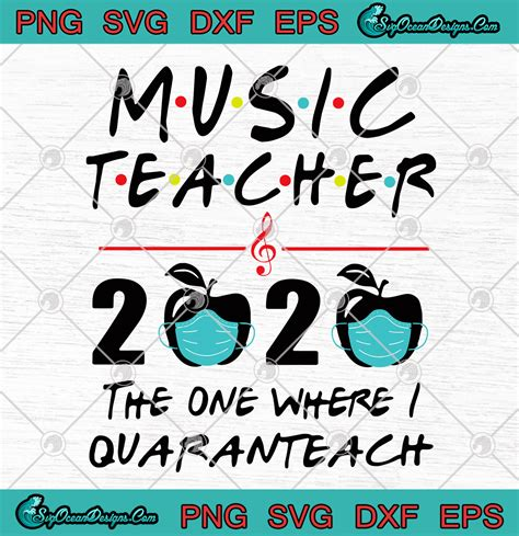 If you wish to use a specific version of the file without new updates being mirrored, please upload the required version as a you are free: Music Teacher 2020 The One Where I Quaranteach Coronavirus ...