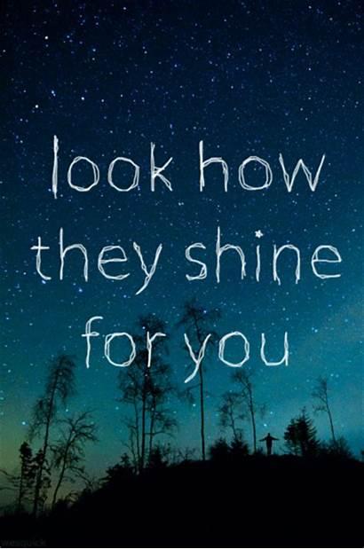 Shine Stars Coldplay Sparkle