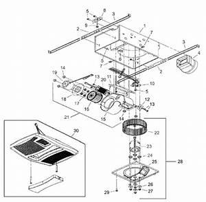 Nutone Qtxn110hl Ventilation Fan  Light  Heater Parts