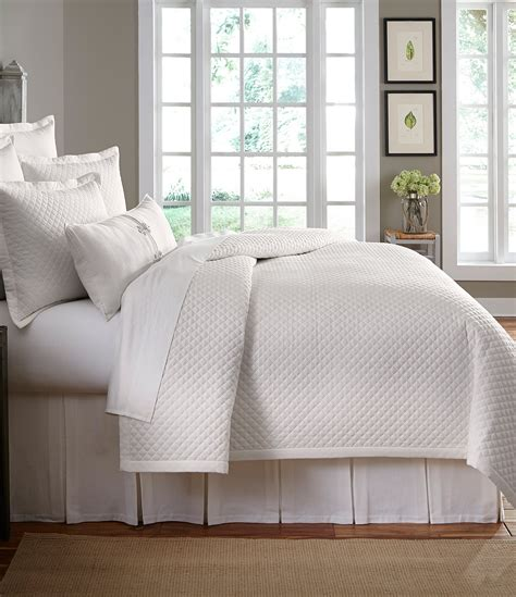 Quilted Coverlet by Southern Living Heirloom Quilted Cotton Piqu 233 Coverlet