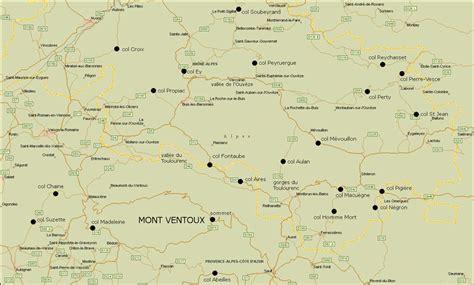 carte g 233 ographique du mont ventoux