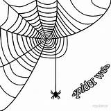 Spider Web Corner Coloring Simple Spiderweb Pumpkin Halloween Printable Borders Graphics Cool2bkids Clipartmag Getcolorings sketch template