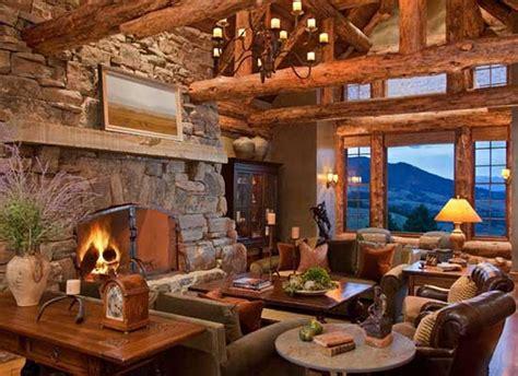 Beautiful Luxury Rustic Home Design (28 Photos)