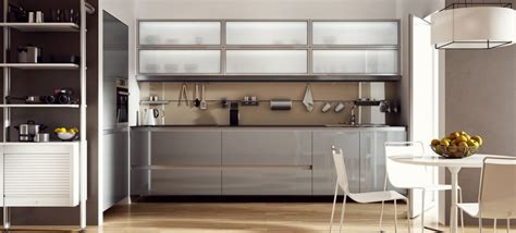glass door cabinets kitchen vernazza glass kitchens a luxurious kitchen design 3773
