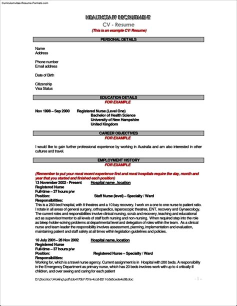 Resume Template Australia by Resume Template Australia Free Sles Exles