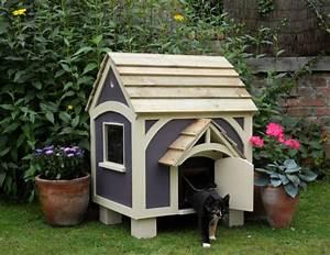 Maison Pour Chat Extérieur : choisir une maisonnette pour chat ~ Premium-room.com Idées de Décoration