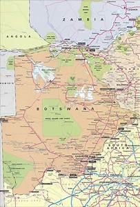 Maps of Botswana | Map Library | Maps of the World