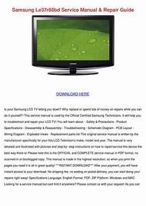 Samsung Le37r88bd Service Manual Repair Guide By