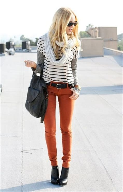 Rust pants | Style | Pinterest | Rust Colored Pants and Pants