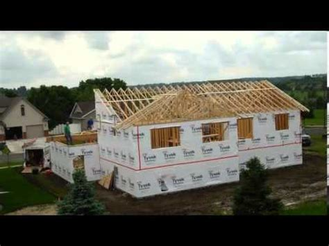 Summer 2013 Home Build Time Lapse (extended version) - YouTube