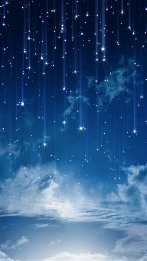 Sky Bright Moon Iphone Stars Wallpaper  2018 Iphone
