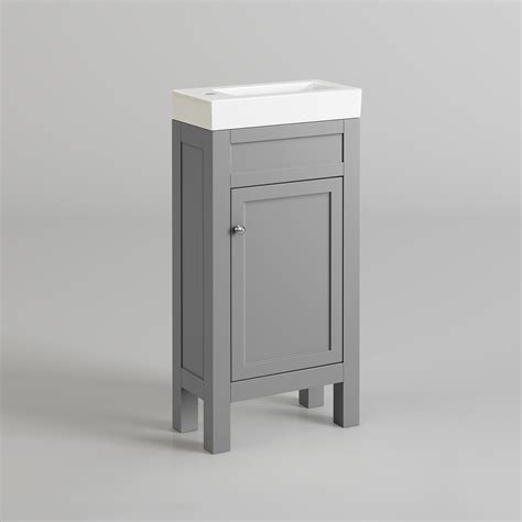 melbourne cloakroom traditional bathroom vanity unit sink