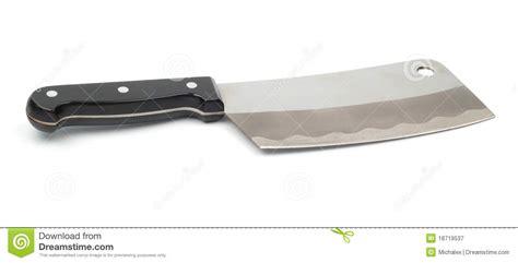 hache de cuisine hache de cuisine pour la viande photographie stock libre