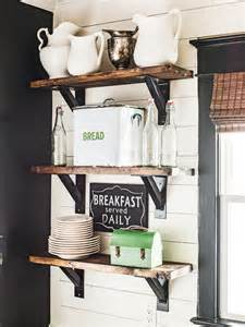 kitchen nook decorating ideas open kitchen shelves farmhouse style intentional hospitality