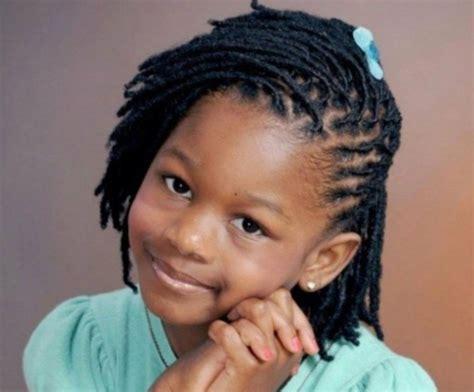 Tresse petite fille afro
