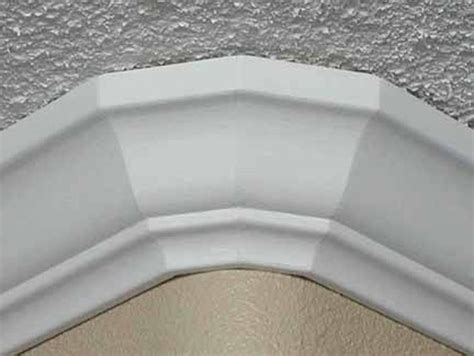 install crown molding  rounded corners hunker