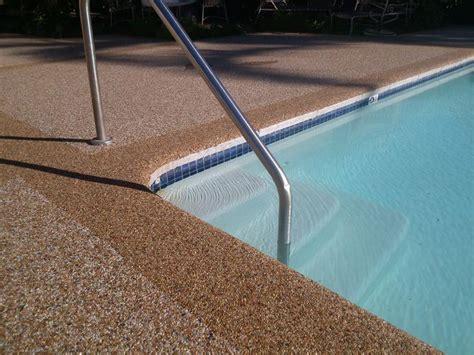 Pool Deck Resurfacing Pebble