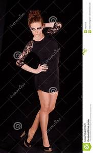 Female Figure In Dark Colors Royalty Free Stock Photo ...