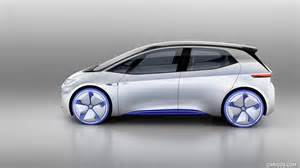 volkswagen id concept side hd wallpaper