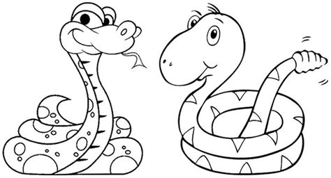 Top 25 Free Printable Snake Coloring Pages Online Snake