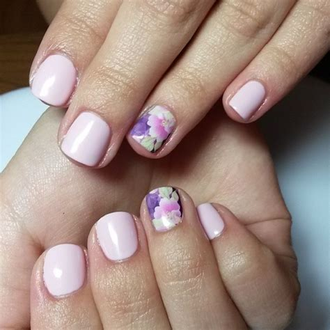 light pink nails light pink floral nails pictures photos and images for