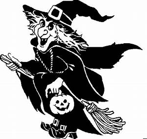 Halloween Clipart: Black And White Halloween Clipart