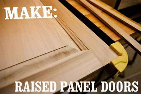 How To Make Raised Panel Cabinet Doors With A Router by Skill Builder How To Make Raised Panel Cabinet Doors